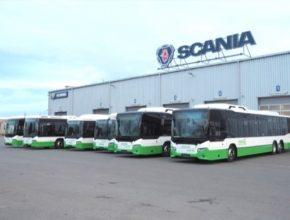 autobusy na plyn CNG stlačený zemní Karviná Havířov Slezko