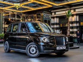 auto LEVC plug-in hybrid London taxi
