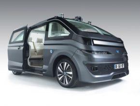 auto elektromobil Autonom Cab