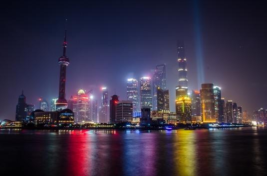 Čína Šanghaj město povolenky emise znečištění ovzduší