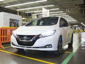 auto elektromobil Nissan Leaf výroba Smyrna