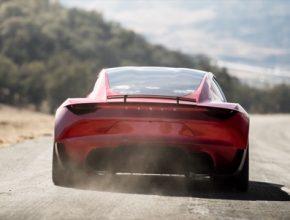 auto elektromobil Tesla Roadster nový
