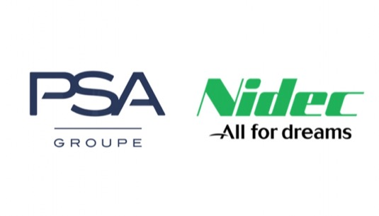 auto PSA Groupe Nidec all for dreams logo