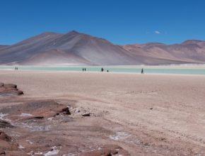 Poušť Atacama Chile těžba lithia