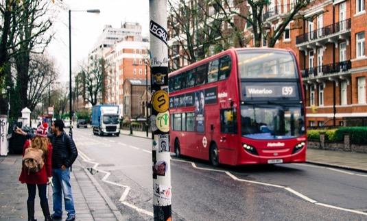 auto autobus británie doubledecker