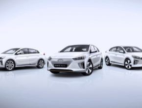 auto elektromobily hybridy plug-in Hyundai Ioniq line-up