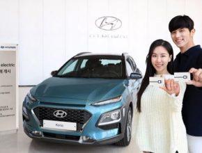 auto elektromobil Hyundai Kona Electric
