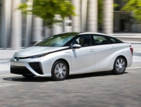 auto vodíkové auto Toyota mirai