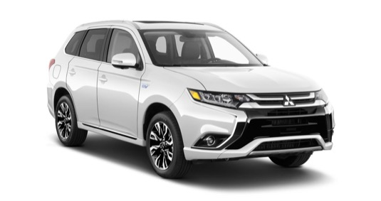 auto plug-in hybrid Mitsubishi Outlander PHEV