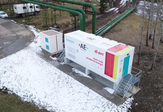 Celková investice dosáhla výše 24 milionů Kč. Zařízení formou řešení na klíč dodala společnost Siemens.