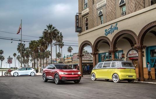 auto elektromobily řady Volkswagen I.D.
