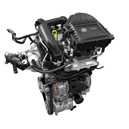 Spalovací motor TGI přizpůsobený pro stlačený zemní plyn