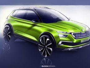 Nová studie vozu značky ŠKODA s hybridním pohonem je dalším vývojem designového jazyka SUV modelů