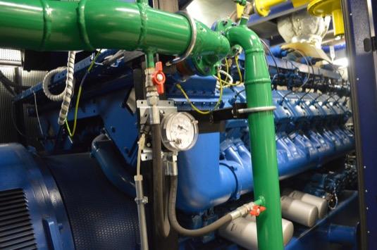 Společnost ČEZ Energo provozuje vČesku celkem 118 kogeneračních jednotek scelkovým instalovaným elektrickým výkonem 91 MWe a tepelným výkonem přesahujícím 194 MWt.