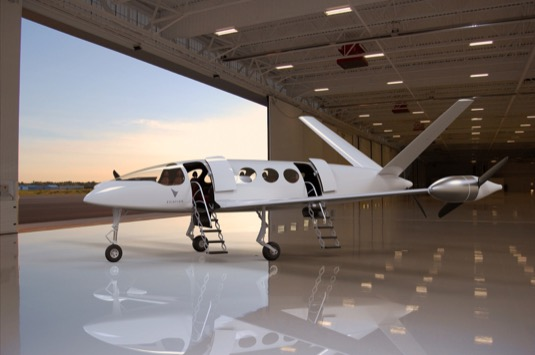elektrické letadlo elektroletadlo Alice Eviation Aircraft