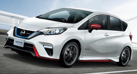 Nissan Note e-Power Nismo hybrid