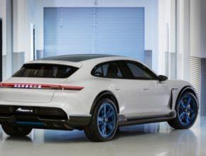 auto elektromobil Porsche Mission E Cross Turismo