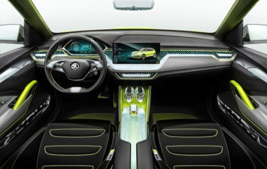 Škoda Auto DigiLab a tým Škoda Connect prezentují vize mobility na autosalonu v Ženevě.