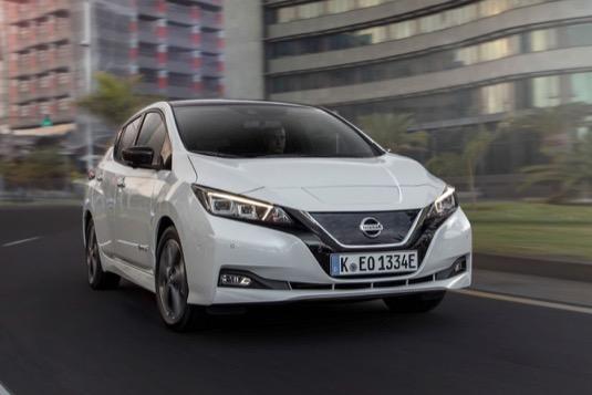 auto nová verze elektromobilu Nissan Leaf