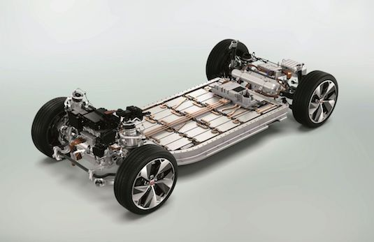 auto elektromobil Jaguar I-PACE