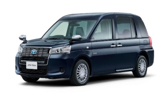 taxi vozy Toyota