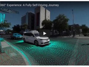 auto Waymo robotické autonomní vozidla