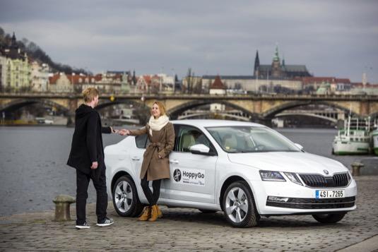 Škoda Auto DigiLab posiluje svou platformu pro carsharing HoppyGo.