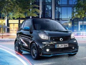 auto elektromobil Smart ED