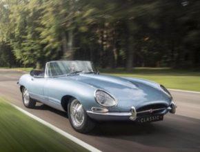 auto elektromobil Jaguar E-Type Zero
