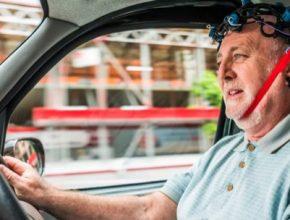 auto elektromobily plug-in hybrid taxi řidič stres snížení