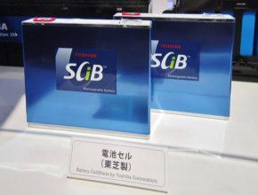 SCiB akumulátor společnosti Toshiba, jedna z variant lithium-titanátové baterie