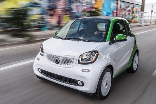 auto elektromobil Smart ED EQ