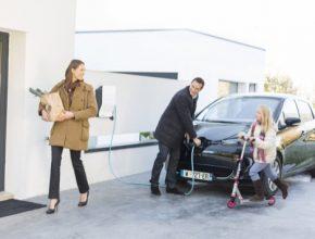 auto domácí nabíjecí stanice EV Link Schneider Electroc