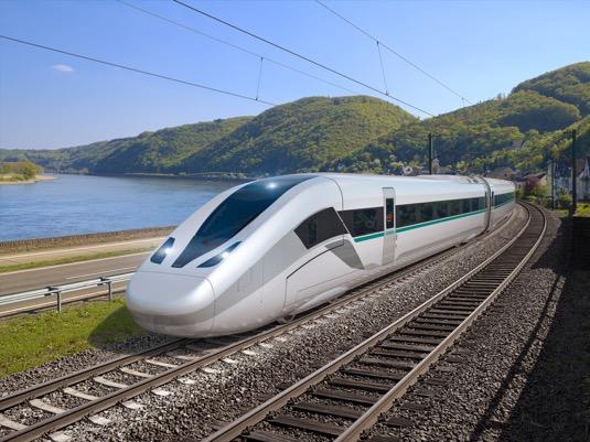 rychlovlaky vysokorychlostní lokomotiva Siemens Velaro Novo