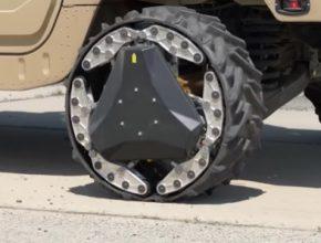 auto elektromobilita DARPA kola in-wheel hub elektromotory RWT