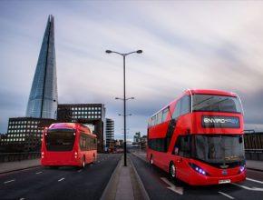 auto elektrobusy autobusy elektrické BYD ADL Londýn
