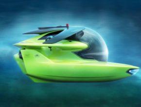 Aston Martin Project Neptune - luxusní ponorka pro milionáře.