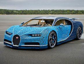 auto LEGO Bugatti Chiron elektromobil