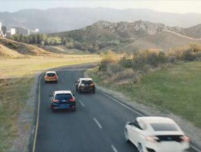 auto reklama Volkswagen Electrify America