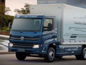 auto elektromobil elektrické nákladní vůz Volkswagen e-Delivery