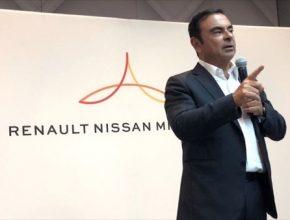 auto Carlos Ghosn Renault Nissan Mitsubishi Alliance