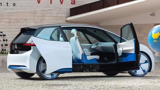Nová platforma je určena výhradně pro elektrický pohon a pokrývá kompletní spektrum modelů: od kompaktních vozů až po SUV a MPV. Výroba modelu ID (na obrázku) bude zahájena už příští rok. Prodeje by měly do roku 2025 vzrůst na více než 1 milion elektromobilů ročně.