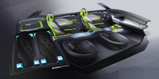 Škoda ukáže na Future Port Prague poprvé v Česku koncept svého hybridu Vision X