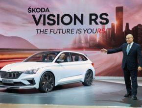 auto Škoda Vision RS plug-in hybrid
