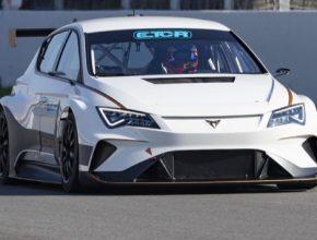 CUPRA e-Racer poprvé předvedl své výkony před nejnáročnějším publikem: automobilovými fanoušky během finálového podniku TCR Europe