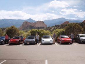 auto majitelé elektromobilů Tesla Model 3 v pořadu Fully Charged.