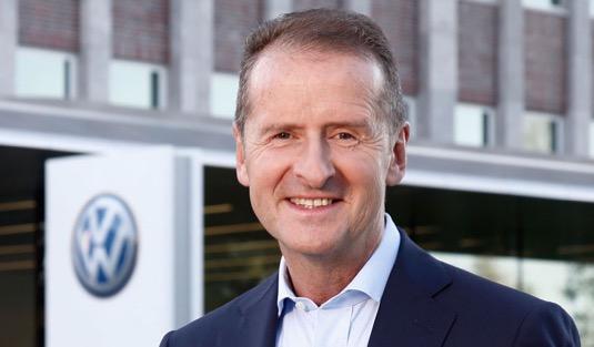 auto Herbert Diess Volkswagen
