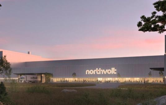 auto budoucí gigatovárna Northvolt