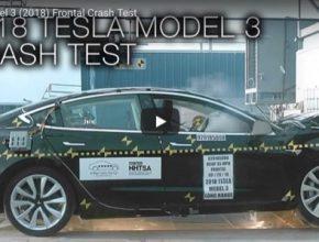 V elektromobilu Tesla Model 3 se nehod bát nemusíte.