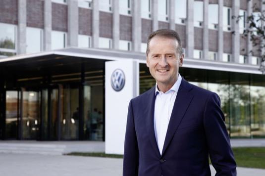 auto Herbert Diess Volkswagen šéf